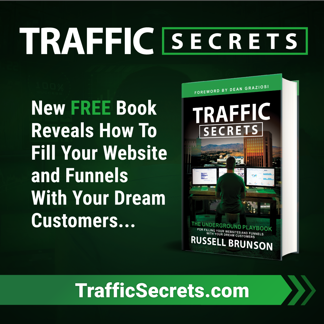 Traffic Secrets, Russell Brunson, free book